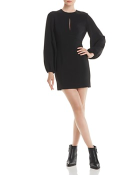 Cinq à Sept - Danica Blouson Sleeve Mini Sheath Dress