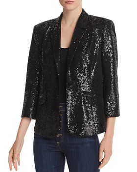 Cinq à Sept - Jana Sequined Single-Button Blazer