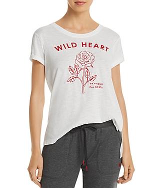 Pj Salvage Tops WILD HEART HIGH/LOW TEE