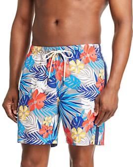 Tommy Bahama - Naples Prickly Pear-Print Swim Trunks