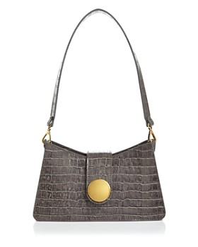 Elleme - Embossed Baguette Shoulder Bag