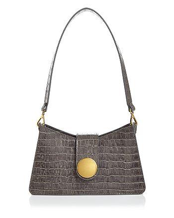 Elleme - Embossed Baguette Shoulder Bag