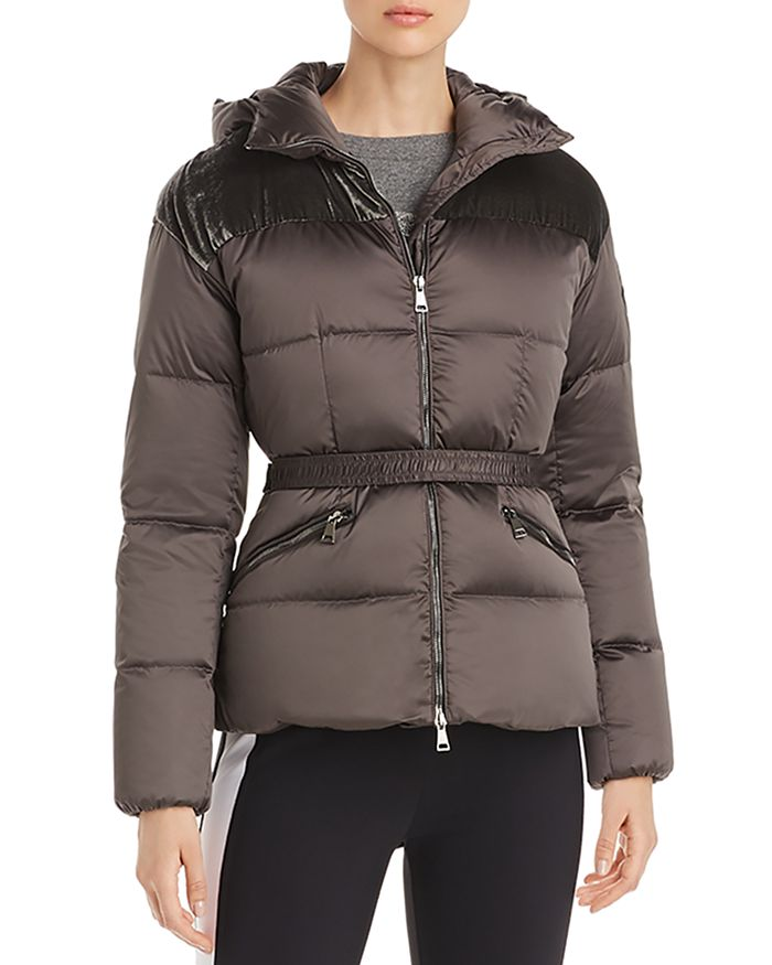 Moncler - Sebou Fitted Down Coat