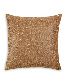 "Hudson Park Collection - Piano Wire Beaded Decorative Pillow, 18"" x 18"" - 100% Exclusive"