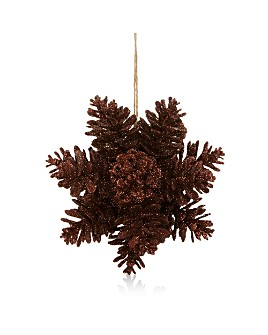 Bloomingdale's - Glitter Pinecone Ornament - 100% Exclusive