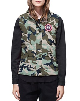 Canada Goose - Freestyle Camouflage-Print Down Vest