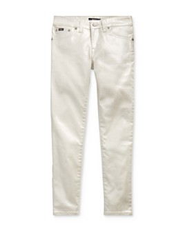 Ralph Lauren - Girls' Skinny Metallic Jeans - Big Kid