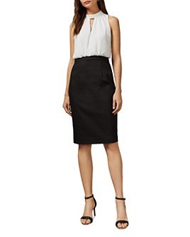 Ted Baker - Naimeyd Working Title Color-Blocked Dress
