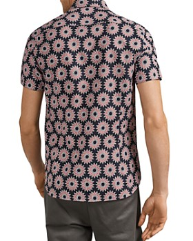 Ted Baker - Spunge Flower Print Slim Fit Shirt
