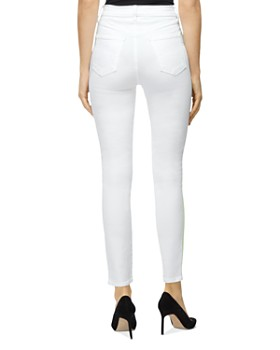 J Brand - Leenah High Rise Skinny Side-Stripe Jeans in Analog