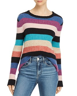 Rails - Kylie Rainbow-Stripe Sweater