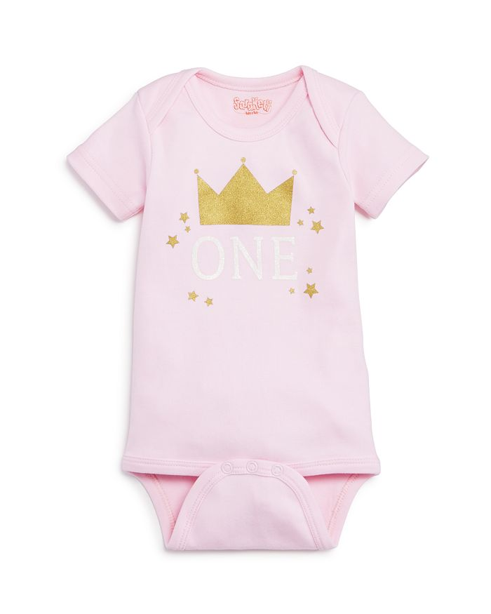 Sara Kety - Girls' One-Year Crown Bodysuit, Baby - 100% Exclusive