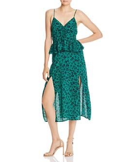 Suboo - Dotted Leopard Midi Dress