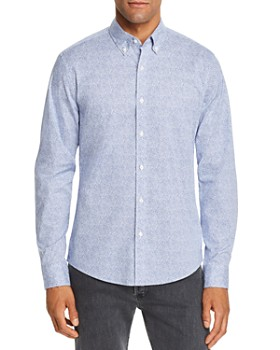 Michael Kors - Billy Slim Fit Button-Down Shirt