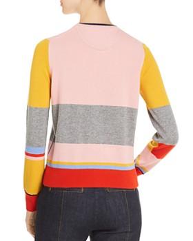 Tory Burch - Color-Block Cashmere Sweater