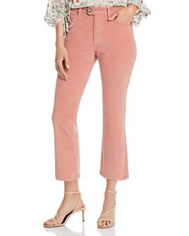 Joie - Maza Cropped Corduroy Pants