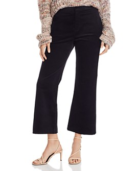 Joie - Duke Cropped Wide-Leg Corduroy Pants