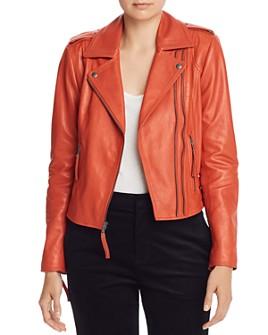 Joie - Leolani Leather Moto Jacket