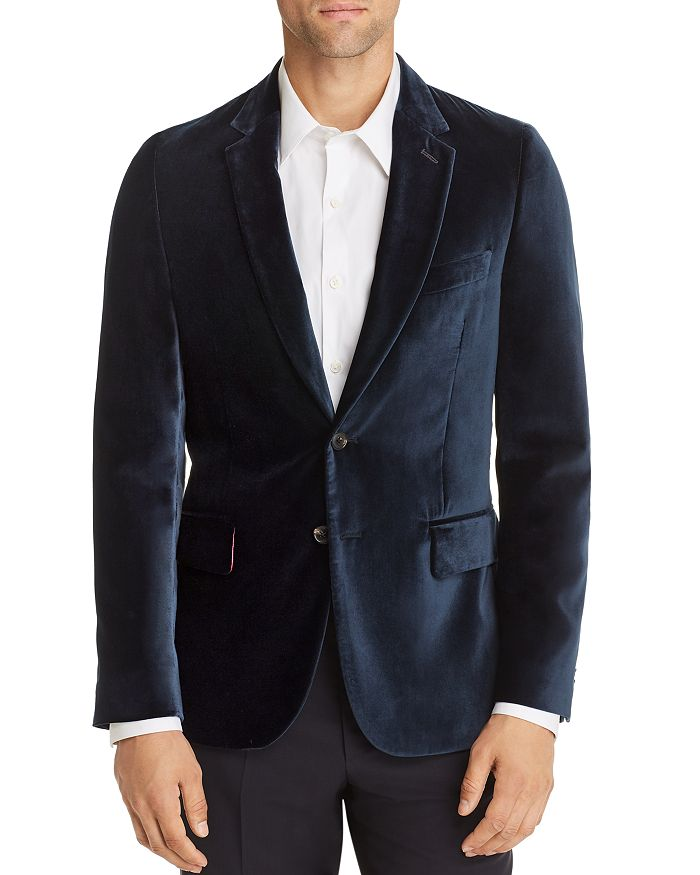 Paul Smith - Soho Velvet Extra Slim Fit Jacket