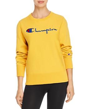 Champion - Crewneck Fleece Sweatshirt
