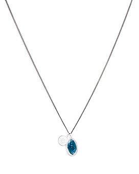 """MIANSAI - Fortuna Sterling Silver Pendant Necklace, 12"""""""