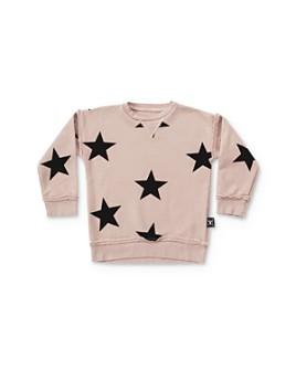 NUNUNU - Girls' Star Print Sweatshirt - Baby