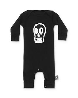 NUNUNU - Unisex Dizzy Skull Playsuit - Baby