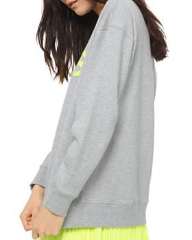 MICHAEL Michael Kors - Logo Graphic Cotton-Terry Sweatshirt