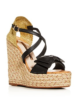 Sophia Webster - Bonnie 140 Platform Wedge Espadrille Sandals