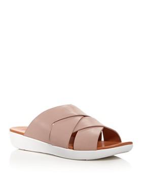 FitFlop - Women's Annah Novaweave Platform Slide Sandals