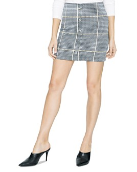 Sanctuary - Check Her Out Plaid Mini Skirt