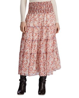 Ralph Lauren - Tiered Floral-Print Peasant Skirt