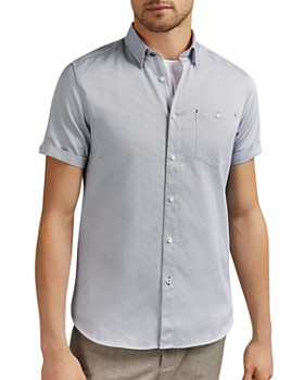 Ted Baker - Donald Geo Print Slim Fit Shirt