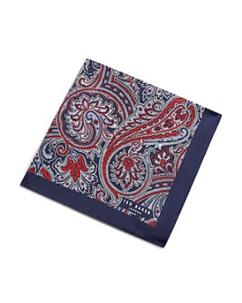 Ted Baker - Hillway Paisley Print Pocket Square