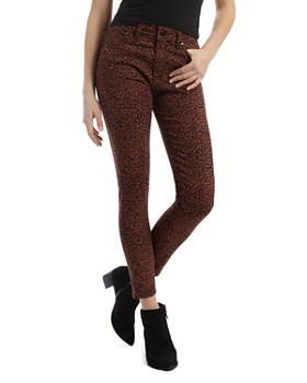Mavi - Tess Leo Skinny Jeans in Brown Leopard