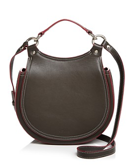 Behno - Tilda Leather Saddle Crossbody