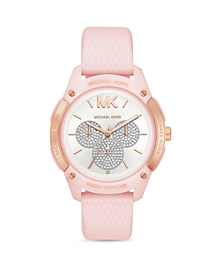 Michael Kors Watches RYDER SILICONE STRAP WATCH, 44MM