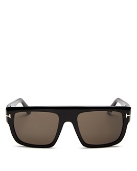 Tom Ford - Men's Alessio Flat Top Square Sunglasses, 57mm