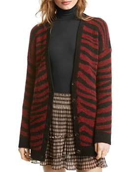 LINI - Layla Zebra-Stripe Cardigan - 100% Exclusive