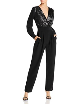 LINI - Sequined Jumpsuit - 100% Exclusive