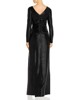 AQUA - Shimmer Twist Liquid Gown - 100% Exclusive