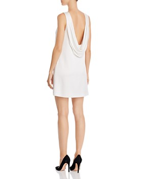 Alice and Olivia - Lita Cowl-Back Shift Dress