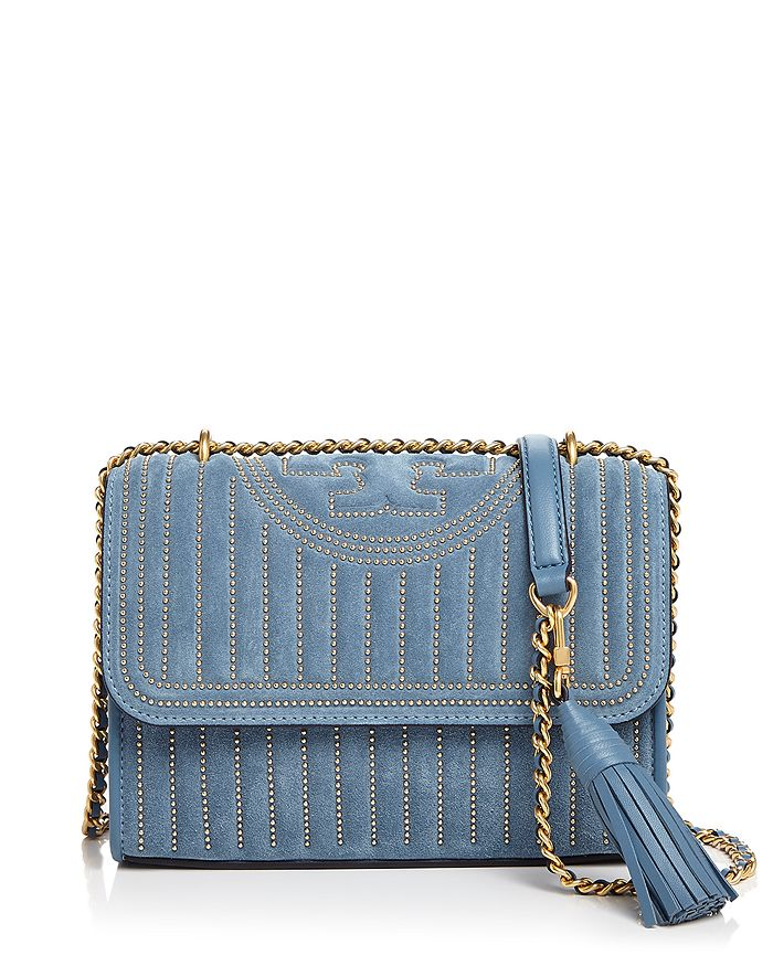 Fleming Studded Convertible Shoulder Bag