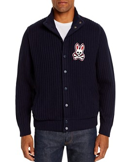 Psycho Bunny - Byron Mixed-Media Sweater