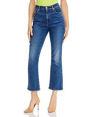 7 For All Mankind Jeans SLIM CROPPED KICK FLARE JEANS IN LUXE VINTAGE STELLAR