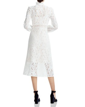 Maje - Rilie Paisley Lace Midi Dress