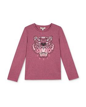 Kenzo - Girls' Long Sleeve Tiger Tee - Little Kid
