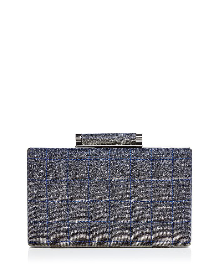 Sondra Roberts - Two-Toned Metallic Box Clutch