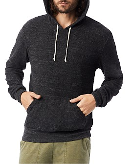 ALTERNATIVE - Terry Cloth Hooded Sweatshirt