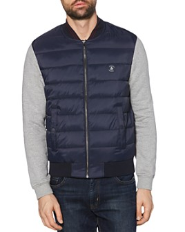 Original Penguin - Mixed-Media Quilted Jacket